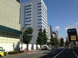 上野1-1街区解体工事